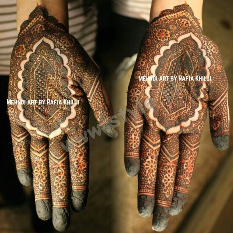 Pakistani mehndi designs for eid 2016 12