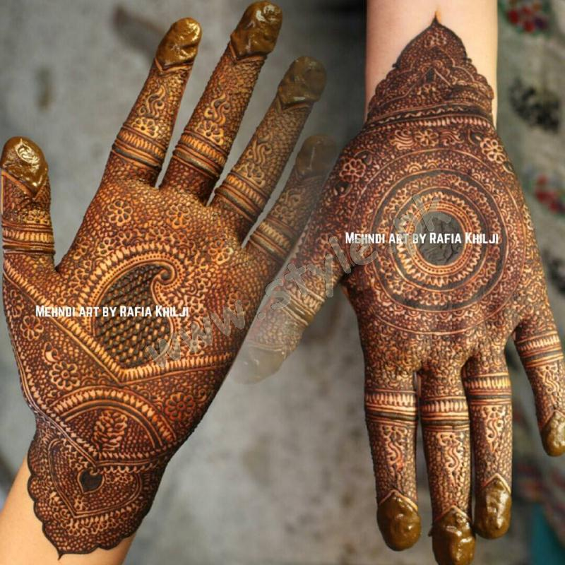 Pakistani mehndi designs for eid 2016 14