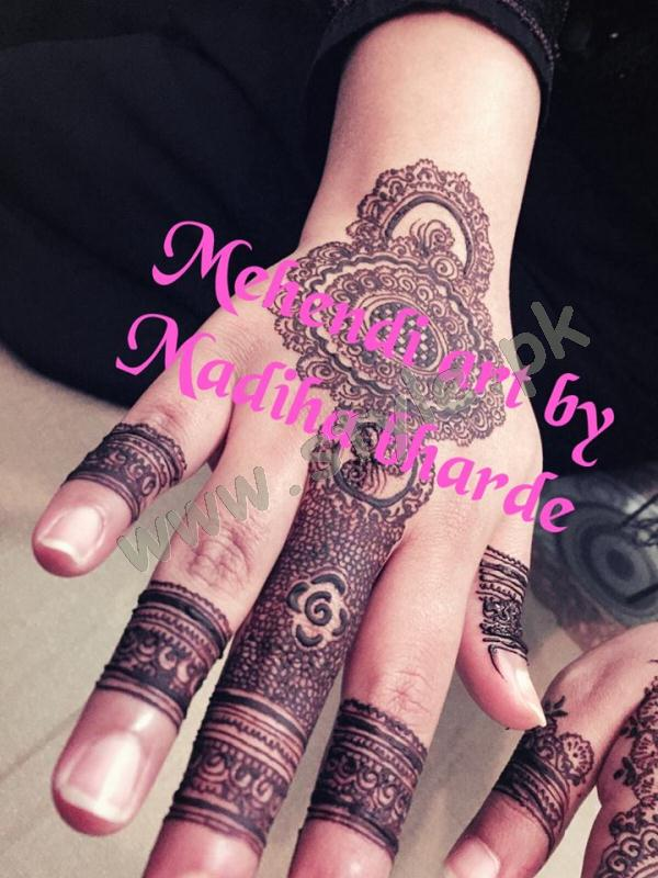 Pakistani mehndi designs for eid 2016 16