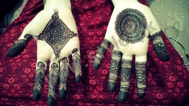 Pakistani mehndi designs for eid 2016 17