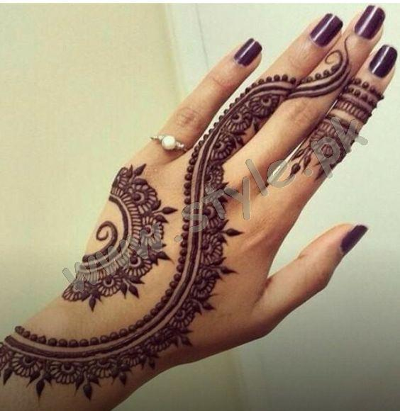 Pakistani mehndi designs for eid 2016 18