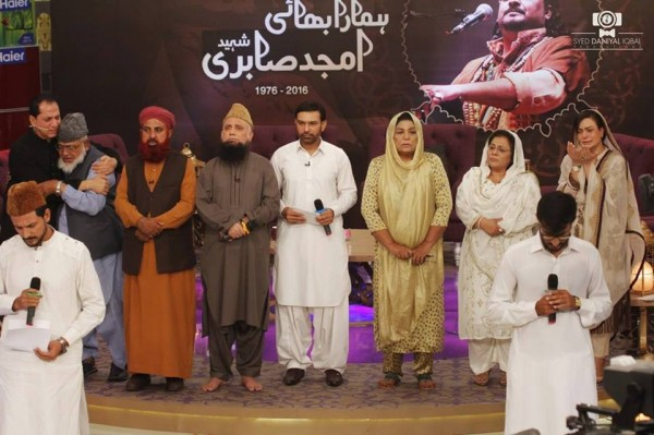 Pictures from Program Alvida Amjad Sabri (4)