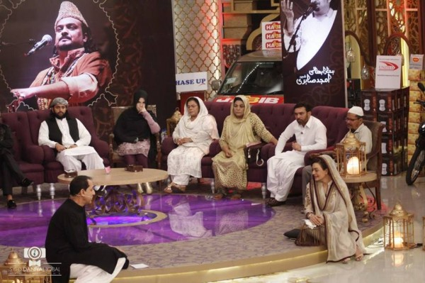 Pictures from Program Alvida Amjad Sabri (5)