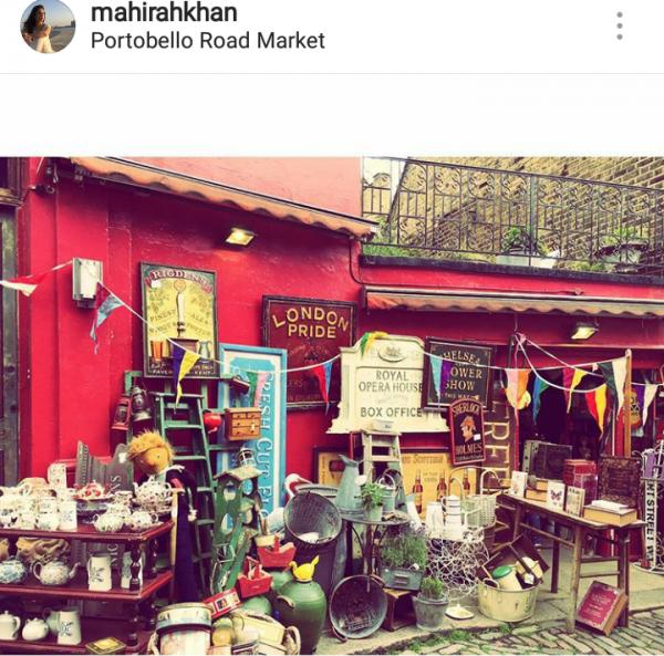 Pictures of Mahira Khan in London (2)