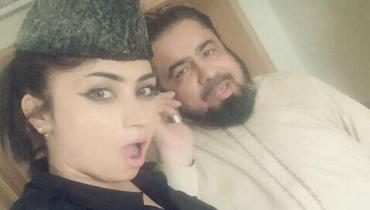Qandeel Baloch and Abdul Qavi