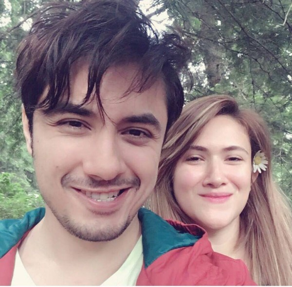 See Recent clicks of Ali Zafar with his Wife