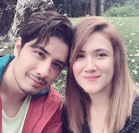 Recent clicks of Ali Zafar with his Wife (2)