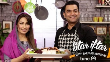 See Reema at Star Iftar with Sarmad Khoosat