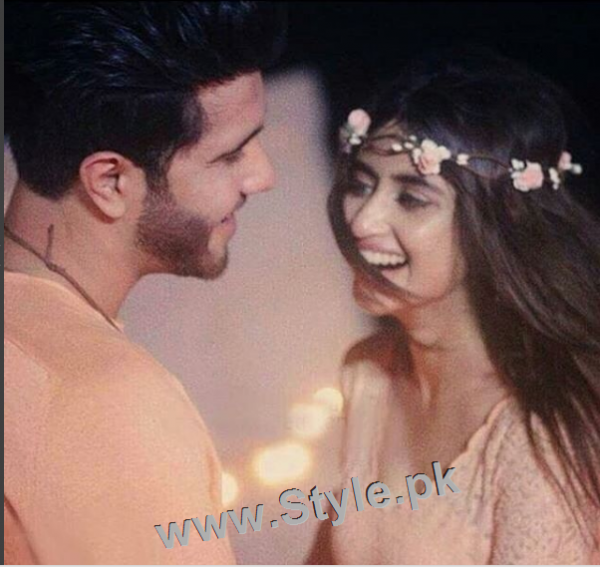 Romance of Sajal Ali and Feroze Khan in Zindagi Kitni Haseen Hai (5)