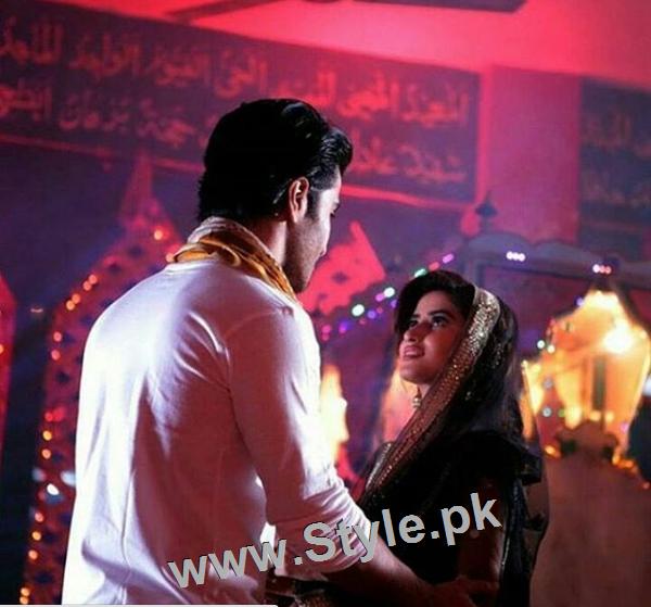 Romance of Sajal Ali and Feroze Khan in Zindagi Kitni Haseen Hai (6)