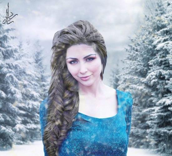 Sabeeka Imam As Queen Elsa