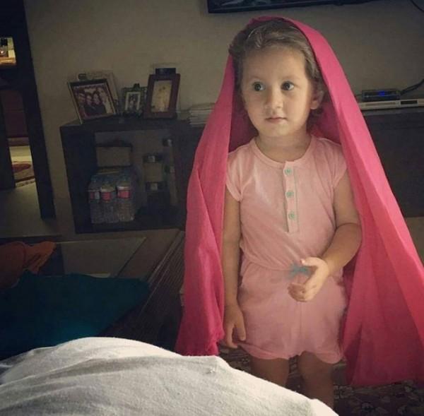 Syra Shehroze Daughter Nooreh Shehroze