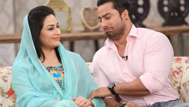 See The reunited couple Humaira Arshad and Ahmed Butt on screen