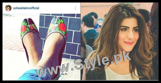 Top 5 Pakistani Celebrities who love capturing their shoes (2)