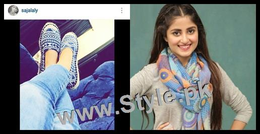 Top 5 Pakistani Celebrities who love capturing their shoes (4)