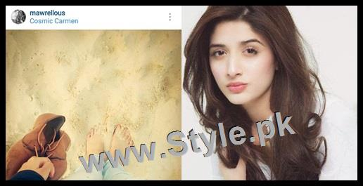 Top 5 Pakistani Celebrities who love capturing their shoes (5)