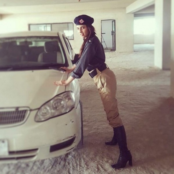 Ushna Shah in police role