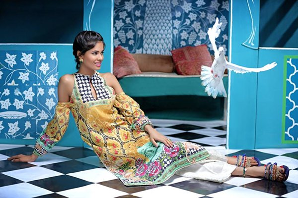 Zahra Ahmad Eid Dresses 2016 For Women