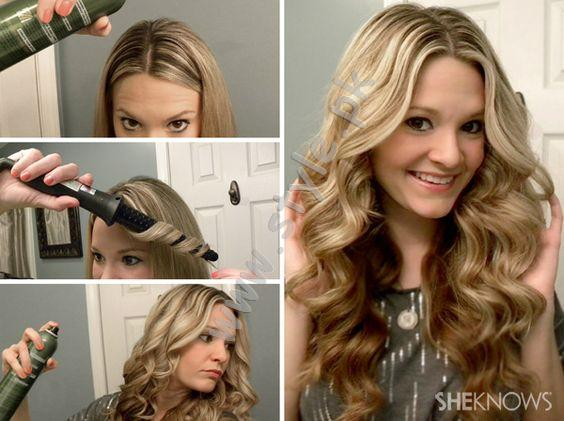 how to learn hair styling learn how to curl your hair with curler for beginners 4969