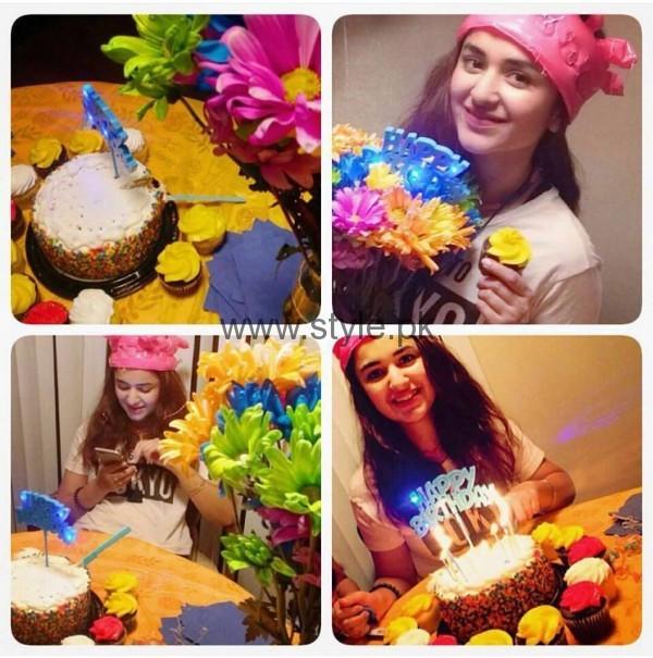 See Yumna Zaidi celebrating her 27th Birthday