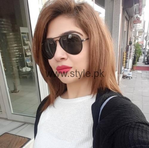 Actress Natasha Ali Europe Tour Pictures