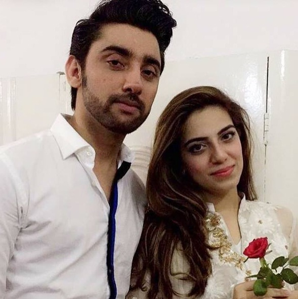 Amanat Ali Engagement With Sarah Manzoor