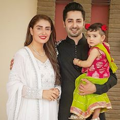 Ayeza Khan And Danish Taimoor On Eid 2016
