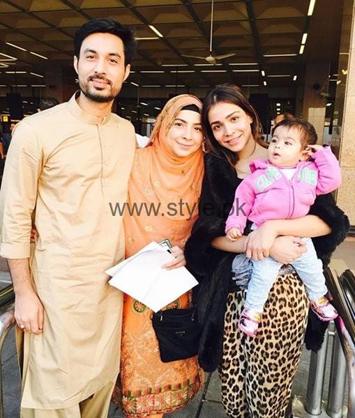 Family Pictures Of Beautiful Humaima Malik - Style.Pk