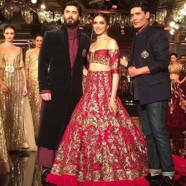 See Fawad Khan and Deepika Padukone as showstoppers