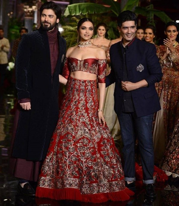 Fawad Khan and Deepika Padukone as showstoppers (5)