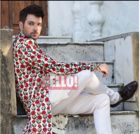 First Photoshoot of Mikal Zulfiqar and his wife for Hello Pakistan (2)