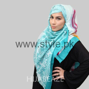 Hijabeaze Latest Hijab Collection 2016  (10)