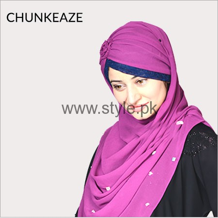 Hijabeaze Latest Hijab Collection 2016  (2)
