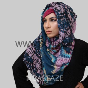 Hijabeaze Latest Hijab Collection 2016  (7)