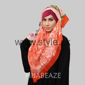Hijabeaze Latest Hijab Collection 2016  (8)
