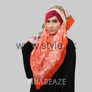 Hijabeaze Latest Hijab Collection 2016  (8)