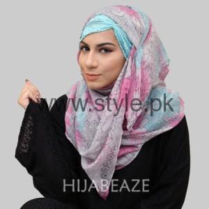 Hijabeaze Latest Hijab Collection 2016  (9)