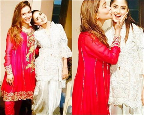 Humaima Malik And Sajal Ali On Eid 2016