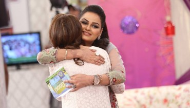 See Javeria Abbasi replaced Nida Yasir in Good Morning Pakistan