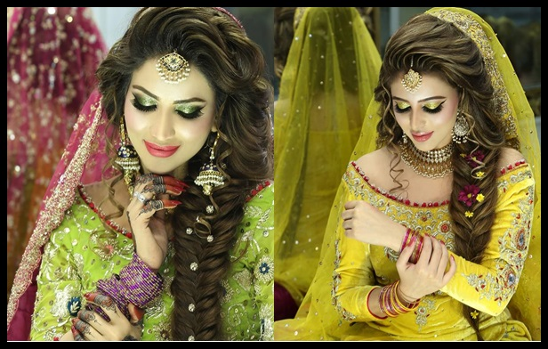 See Latest Makeup Ideas 2016 for Mehndi event