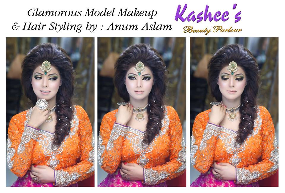 Mehndi Makeup And Hairstyle : Latest makeup ideas for mehndi event