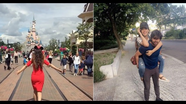 See Latest Pictures of Urwa Hocane and Farhan Saeed from Netherland's tour