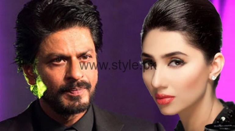 See Mahira Khan's funny incident with Shahrukh Khan