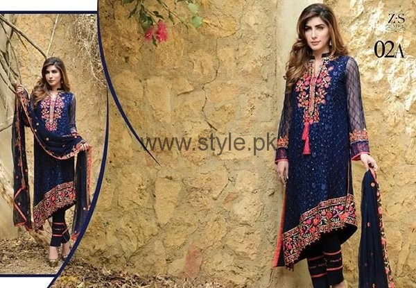 Maira Ahsan Chiffon Dresses 2016 For Women007