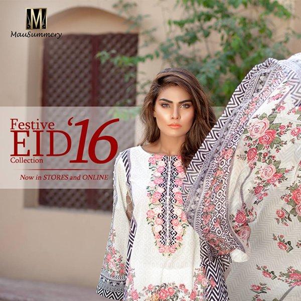 Mausummery Eid Dresses 2016 For Women006
