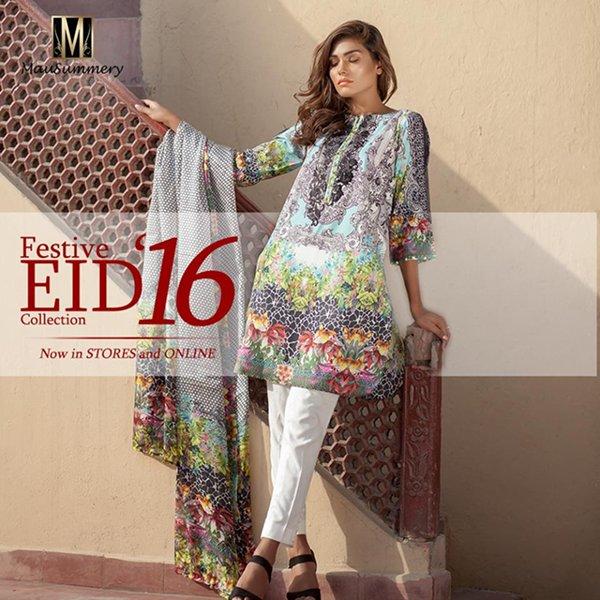 Mausummery Eid Dresses 2016 For Women008