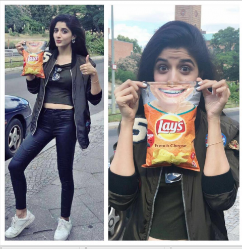 Mawra Hocane France Tour Pictures