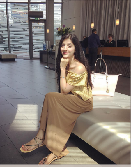 Mawra Hocane vacation pictures