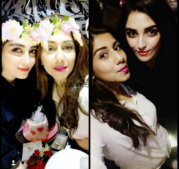 Maya Ali Celebrating Her Birthday 2016