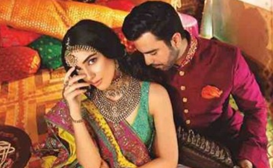 Maya Ali and Junaid Khan Bridal Photoshoot